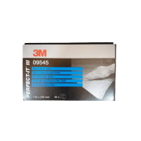 3M P1500 Grit Microfine Abraisive Sand Paper Wet & Dry 50 Sheets 138x230mm