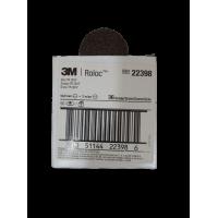 3M Roloc Brown Fibre Cloth Disc 2'' 36 Grit 22398