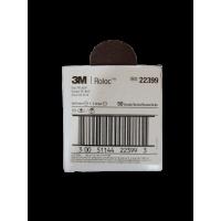 3M Roloc Brown Fibre Cloth Disc 2'' 50 Grit 22399