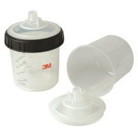 3M PPS System Large Mixing Cup & Collar