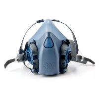 3M 7502 Half Respirator Mask, Medium