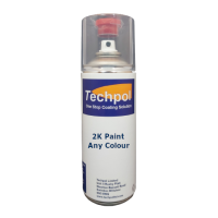 Techpol Custom Filled 2K Aerosol Spray Paint
