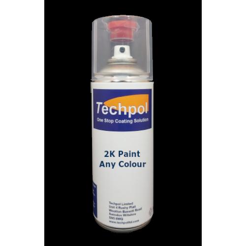 Techpol Custom Filled 2K Aerosol Spray Paint