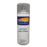Techpol Custom Filled Fast Drying Aerosol Spray Paint