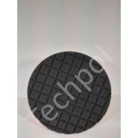 Techpol Black Foam Finishing Pad Velcro 150mm